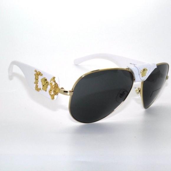 b00f6a291 Versace Accessories | Authentic Sunglasses 2150q Whitegold | Poshmark